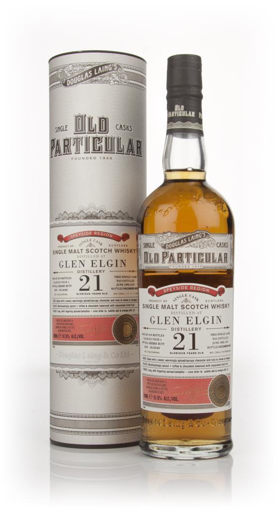 Glen Elgin 21 Year Old 1992 (cask 10185) - Old Particular (Douglas Lai Single Malt Whisky