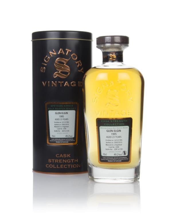 Glen Elgin 23 Year Old 1995 (cask 3268) - Cask Strength Collection (Si Single Malt Whisky 3cl Sample