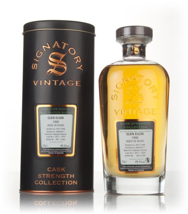 Glen Elgin 26 Year Old 1990 (asks 7877 & 7870) - Cask Strength Collect Single Malt Whisky 3cl Sample