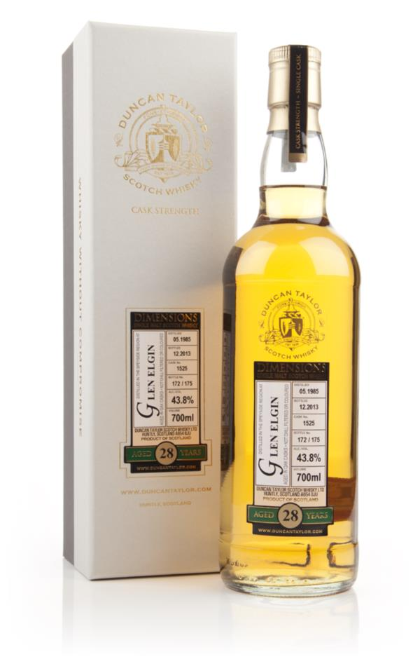 Glen Elgin 28 Year Old 1985 (cask 1525) - Dimensions (Duncan Taylor) Single Malt Whisky