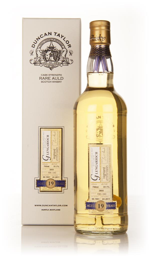 Glen Garioch 19 Year Old 1991 - Rare Auld (Duncan Taylor) Single Malt Whisky