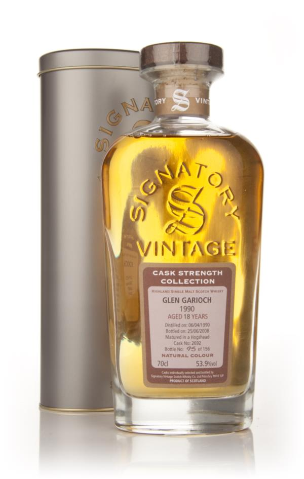 Glen Garioch 18 Year Old 1990 - Cask Strength Collection (Signatory) Single Malt Whisky