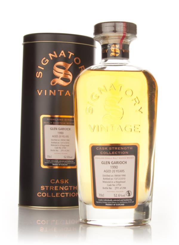 Glen Garioch 20 Year Old 1990 Cask 2750 - Cask Strength Collection (Si Single Malt Whisky
