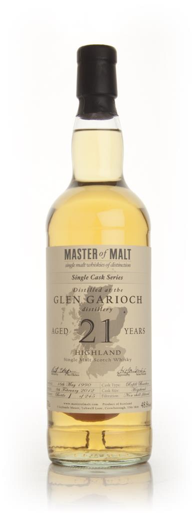 Glen Garioch 21 Year Old Single Cask (Master of Malt) Single Malt Whisky