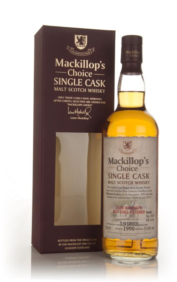 Glen Garioch 22 Year Old 1990 (cask 10295) - Mackillop's Choice Single Malt Whisky