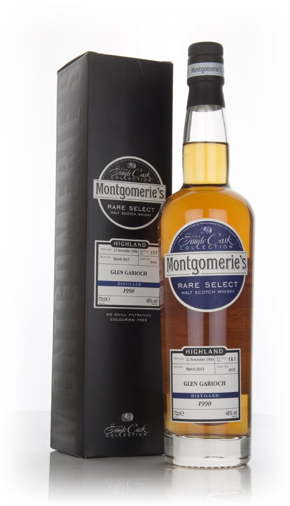 Glen Garioch 22 Year Old 1990 (cask 8555) - Rare Select (Montgomeries Single Malt Whisky