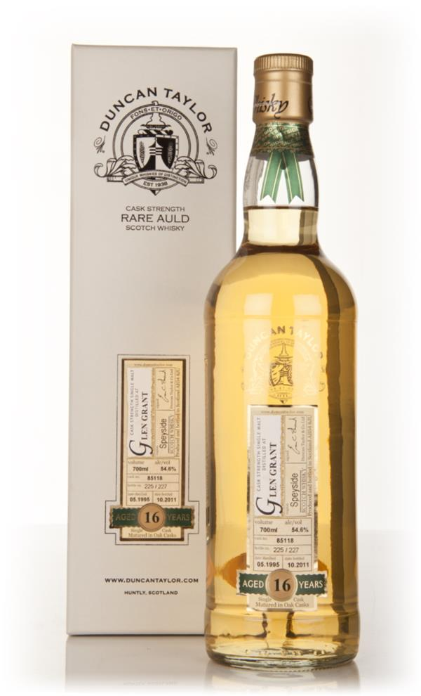 Glen Grant 16 Year Old 1995 - Rare Auld (Duncan Taylor) Single Malt Whisky