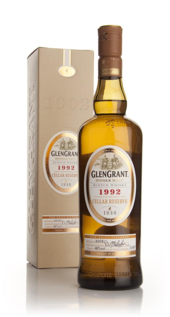Glen Grant 1992 Cellar Reserve Single Malt Whisky