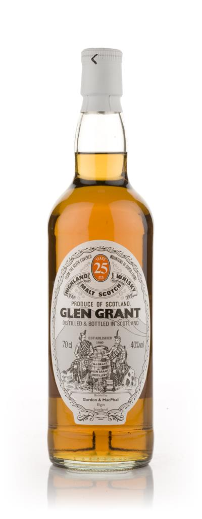 Glen Grant 25 Year Old (Gordon and MacPhail) Single Malt Whisky
