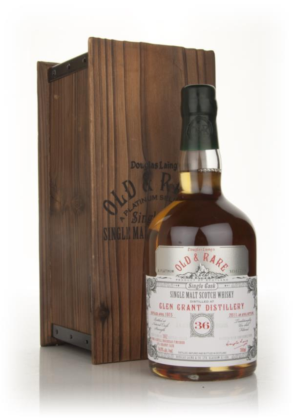 Glen Grant 36 Year Old 1975 - Old and Rare (Douglas Laing) Single Malt Whisky