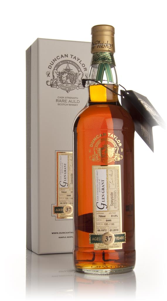 Glen Grant 37 Year Old 1972 - Rare Auld (Duncan Taylor) Single Malt Whisky