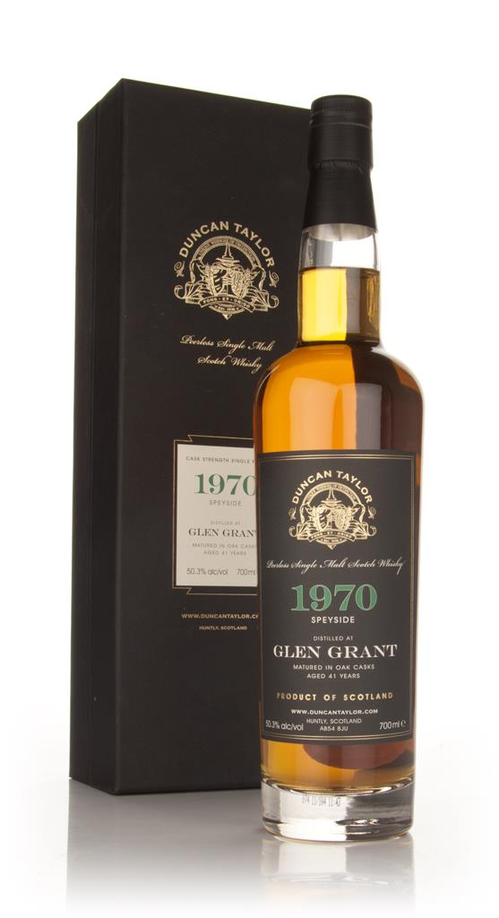 Glen Grant 41 Year Old 1970 - Peerless (Duncan Taylor) Single Malt Whisky