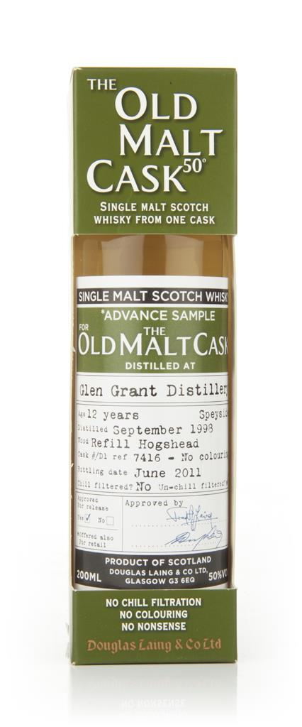 Glen Grant 12 Year Old 1998 - Old Malt Cask (Douglas Laing) Single Malt Whisky