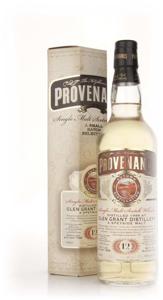 Glen Grant 12 Year Old 1998 - Provenance (Douglas Laing) Single Malt Whisky