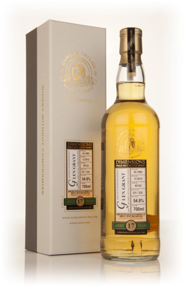 Glen Grant 17 Year Old 1995 (cask 85123) - Dimensions (Duncan Taylor) Single Malt Whisky