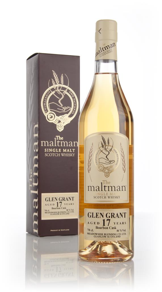 Glen Grant 17 Year Old 1995 (cask 97266) - (The Maltman) Single Malt Whisky