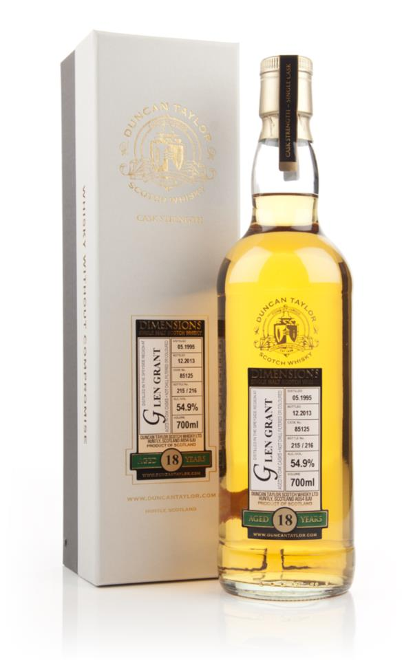 Glen Grant 18 Year Old 1995 (cask 85125) - Dimensions (Duncan Taylor) Single Malt Whisky