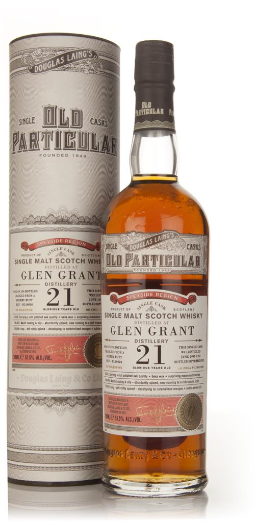 Glen Grant 21 Year Old 1992 (cask 10026) - Old Particular (Douglas Lai Single Malt Whisky