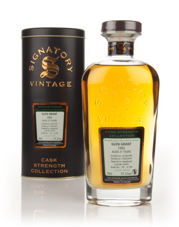 Glen Grant 21 Year Old 1992 (cask 55416) - Cask Strength Collection (S Single Malt Whisky