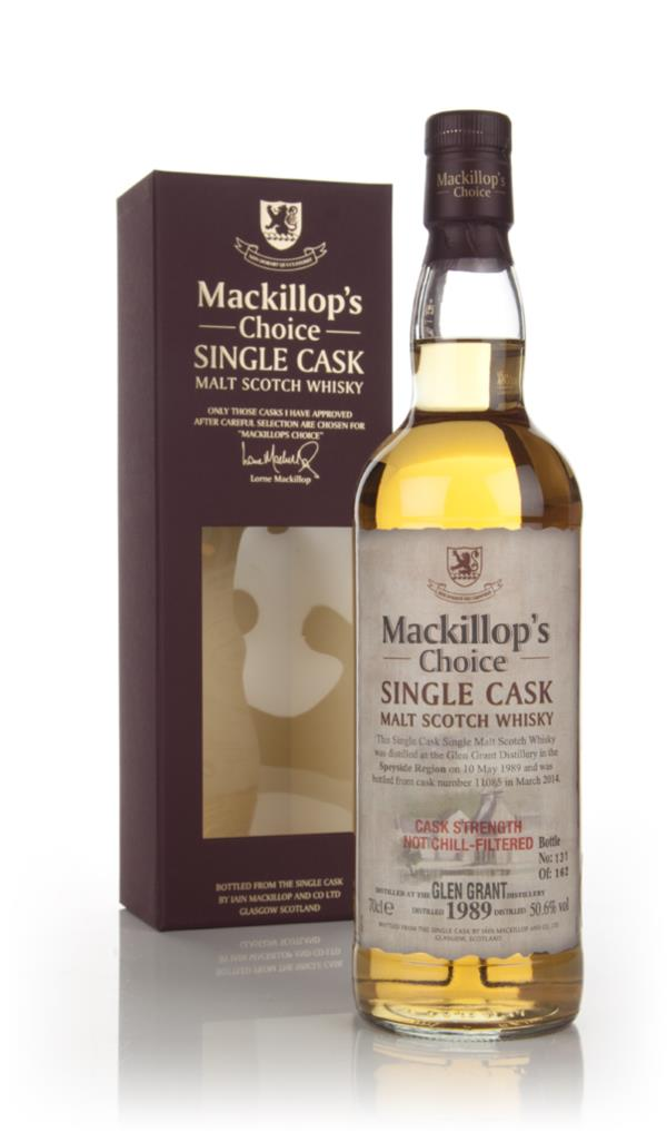 Glen Grant 24 Year Old 1989 (cask 11085) - Mackillop's Choice Single Malt Whisky