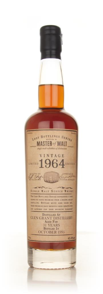 Glen Grant 31 Year Old 1964 - Lost Bottlings Series (Master of Malt) Single Malt Whisky