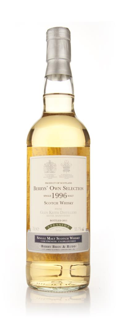 Glen Keith 1996 (Berry Brothers and Rudd) Single Malt Whisky