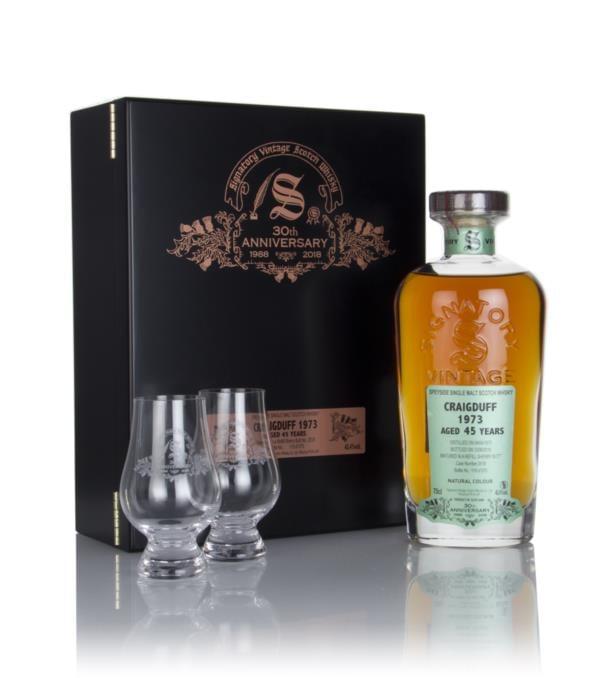 Craigduff 45 Year Old 1973 (cask 2518) - 30th Anniversary Gift Box (Si Single Malt Whisky