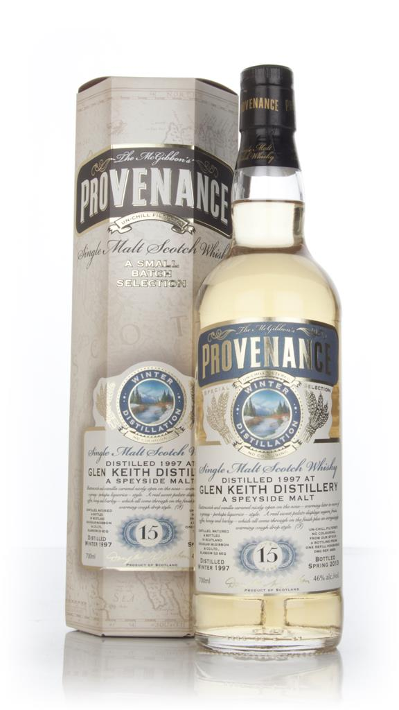Glen Keith 15 Year Old 1997 (cask 9655) - Provenance (Douglas Laing) Single Malt Whisky