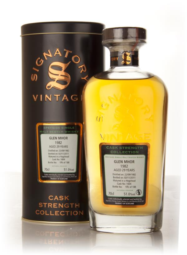 Glen Mhor 29 Year Old 1982 Cask 1604 - Cask Strength Collection (Signa Single Malt Whisky