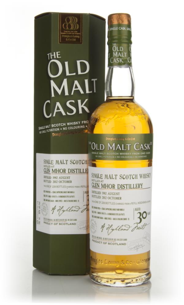 Glen Mhor 30 Year Old 1982 - Old Malt Cask (Douglas Laing) Single Malt Whisky