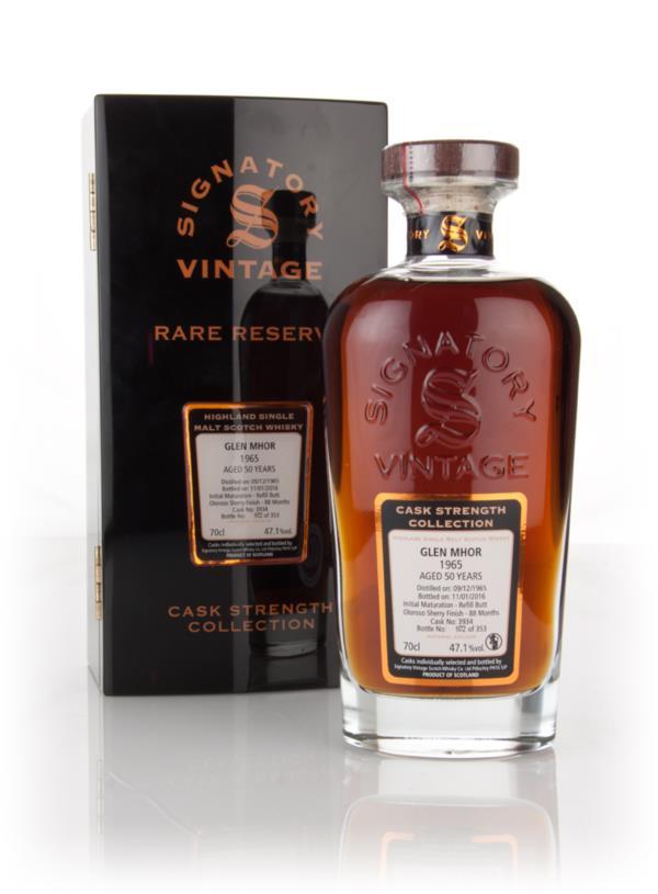 Glen Mhor 50 Year Old 1965 (cask 3934) - Cask Strength Collection Rare Single Malt Whisky