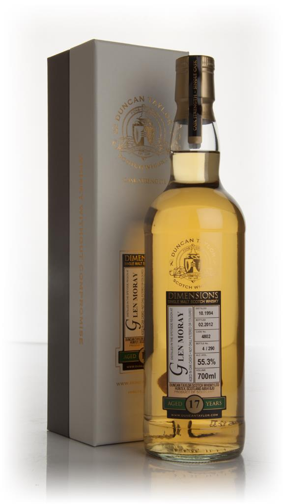 Glen Moray 17 Year Old 1994 - Dimensions (Duncan Taylor) Single Malt Whisky