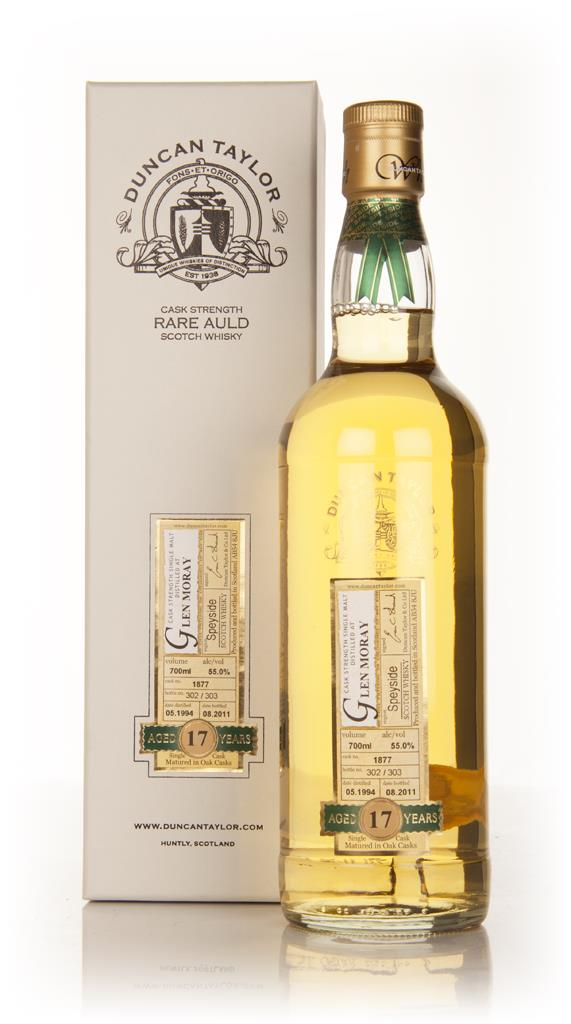 Glen Moray 17 Year Old 1994 - Rare Auld (Duncan Taylor) Single Malt Whisky