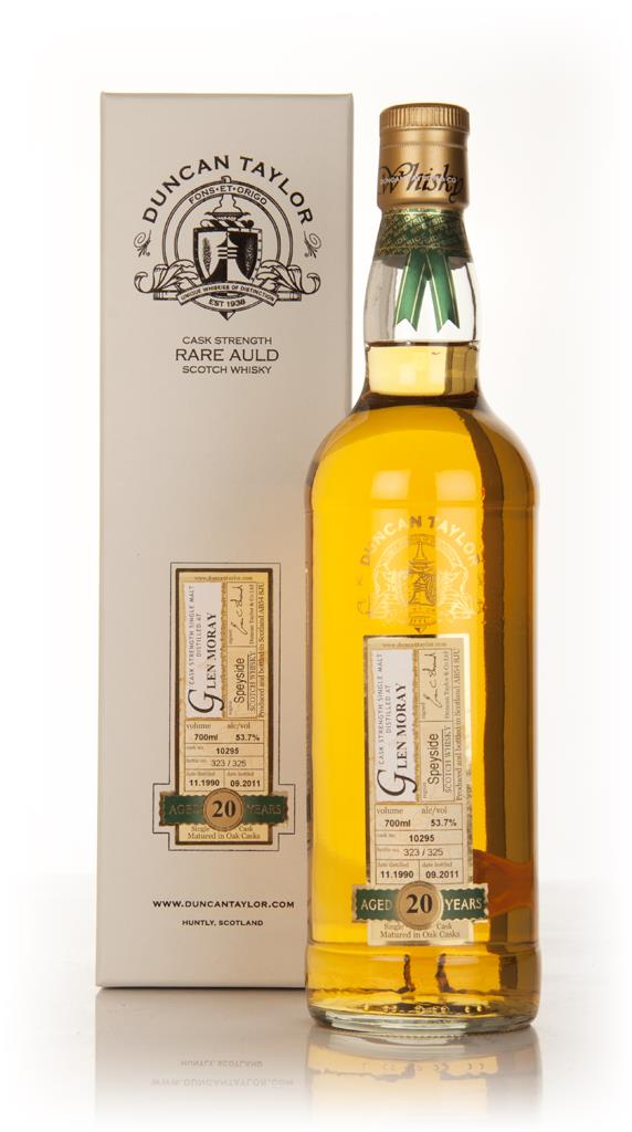Glen Moray 20 Year Old 1990 - Rare Auld (Duncan Taylor) Single Malt Whisky