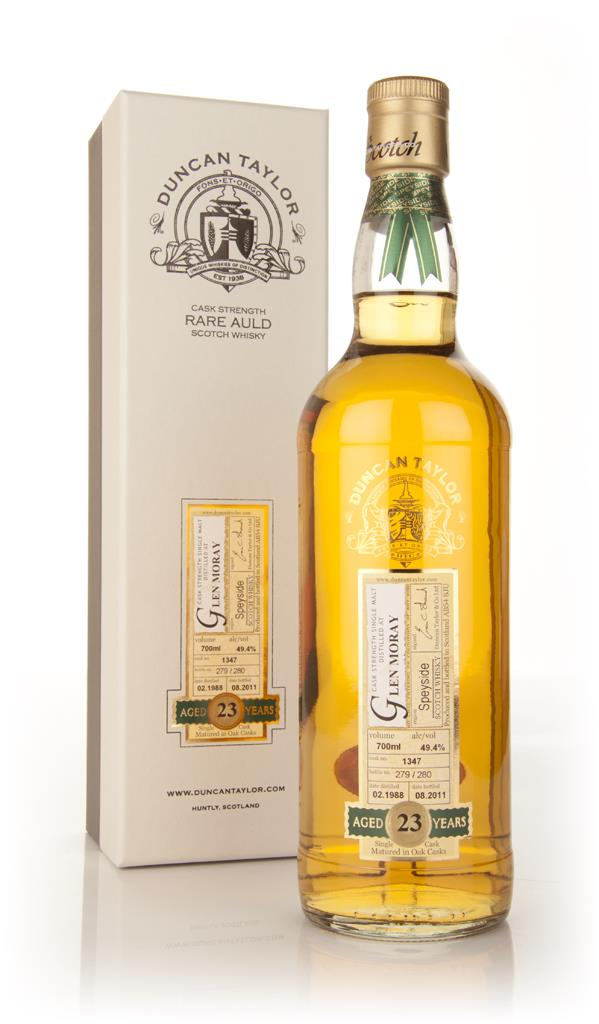 Glen Moray 23 Year Old 1988 Rare Auld (Duncan Taylor) Single Malt Whisky