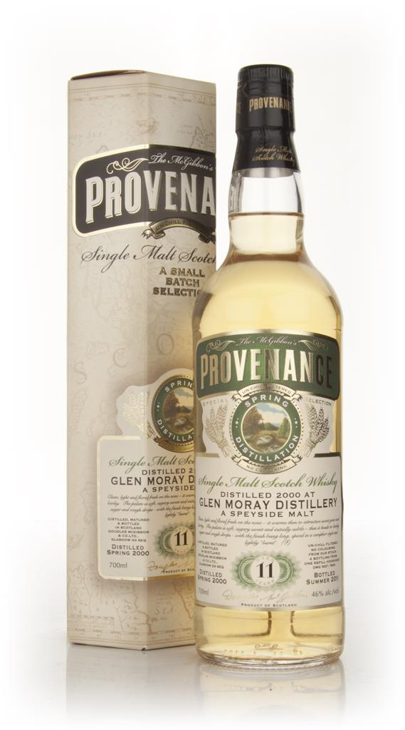 Glen Moray 11 Year Old 2000 - Provenance (Douglas Laing) Single Malt Whisky