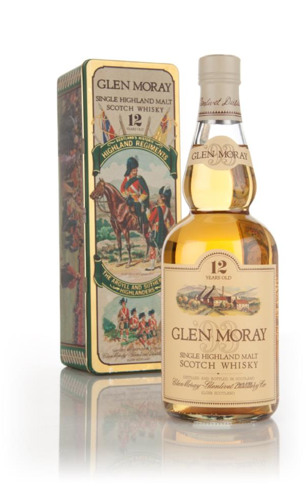 Glen Moray 12 Year Old - 1980s Single Malt Whisky