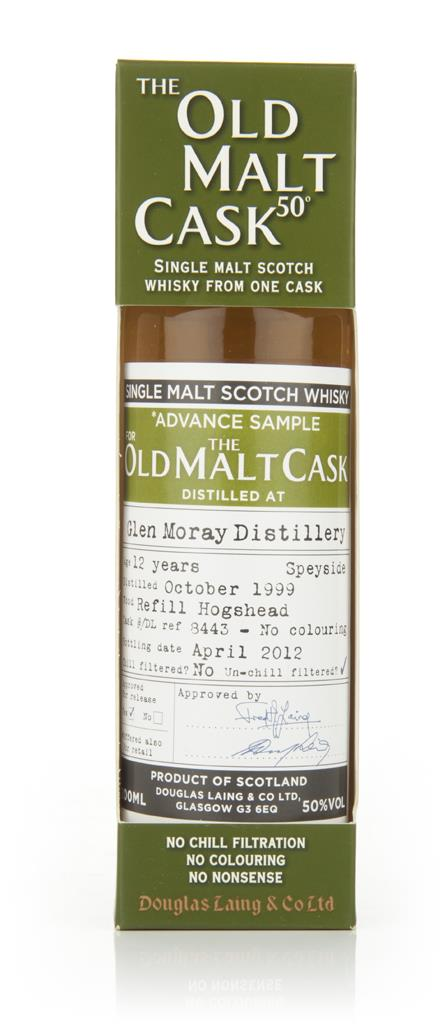Glen Moray 12 Year Old 1999 - Old Malt Cask (Douglas Laing) Single Malt Whisky