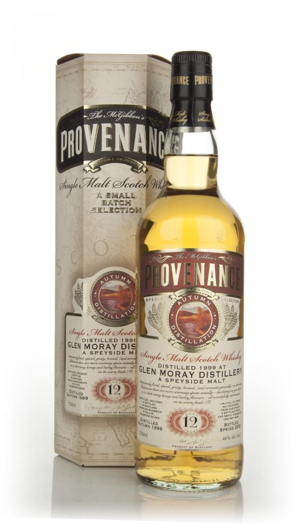 Glen Moray 12 Year Old 1999 - Provenance (Douglas Laing) Single Malt Whisky