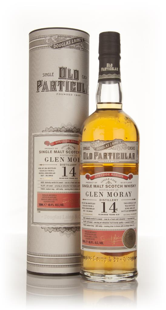Glen Moray 14 Year Old 1999 (cask 10043) - Old Particular (Douglas Lai Single Malt Whisky