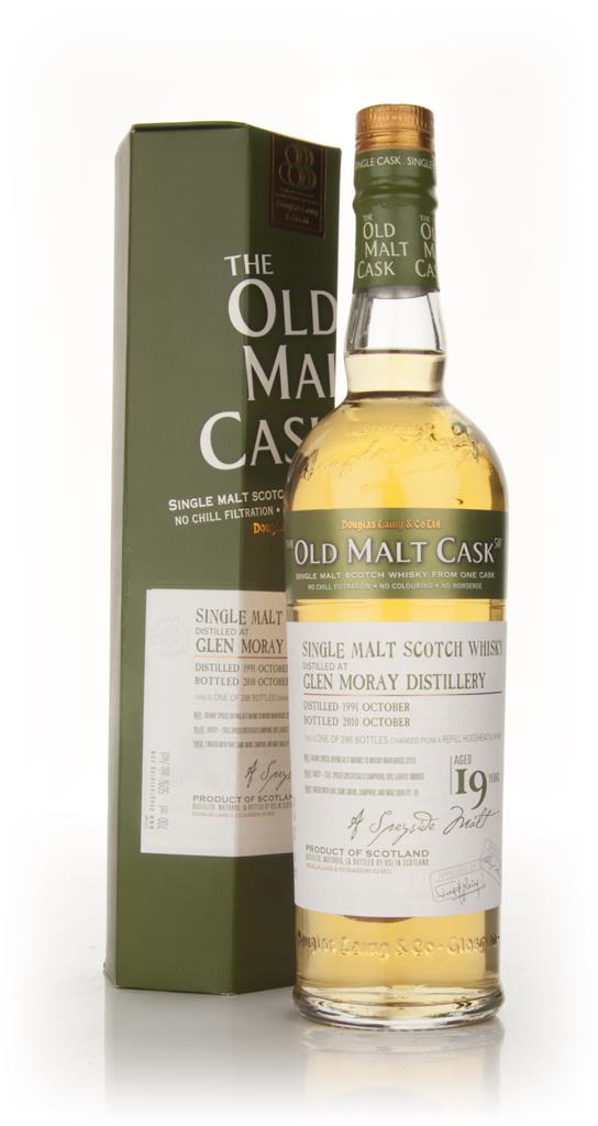 Glen Moray 19 Year Old 1991 - Old Malt Cask (Douglas Laing) Single Malt Whisky