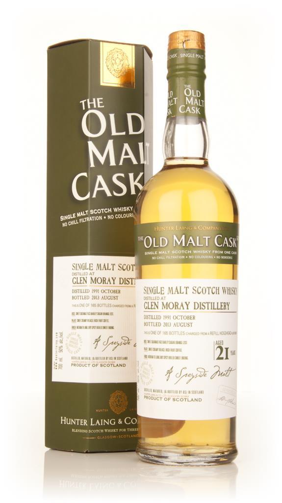 Glen Moray 21 Year Old 1991 (cask 9935) - Old Malt Cask (Hunter Laing) Single Malt Whisky