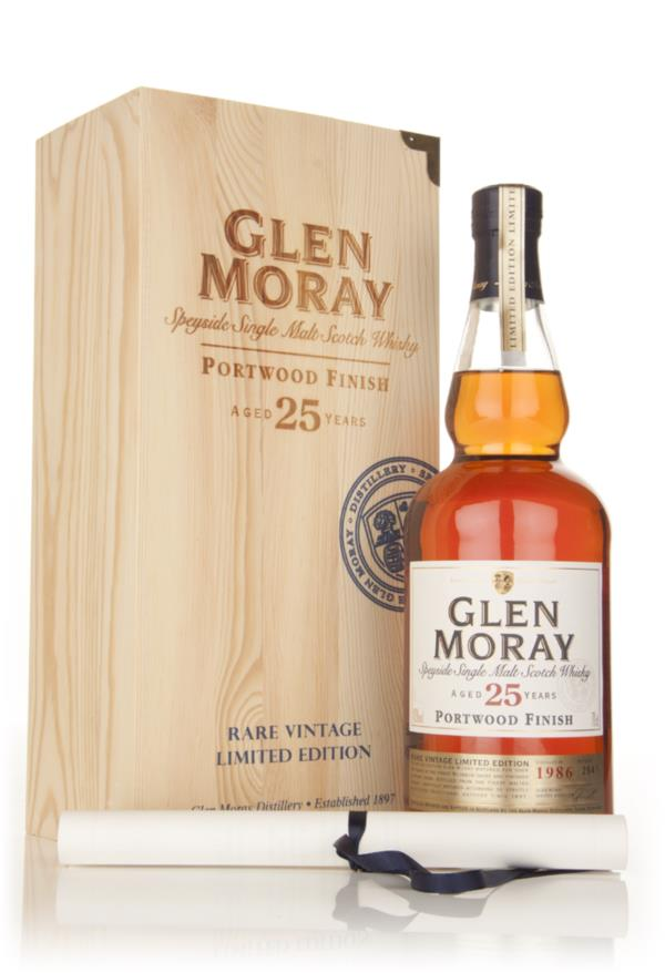 Glen Moray Portwood Finish 25 Year Old Single Malt Whisky