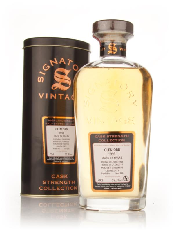 Glen Ord 12 Year Old 1998 Cask 3473 - Cask Strength Collection (Signat Single Malt Whisky