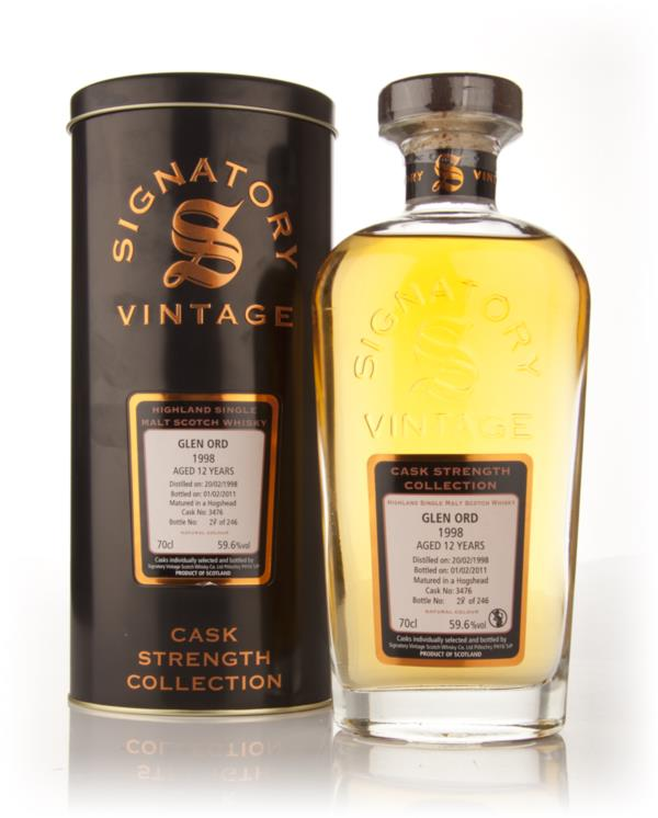 Glen Ord 12 Year Old 1998 Cask 3476 - Cask Strength Collection (Signat Single Malt Whisky