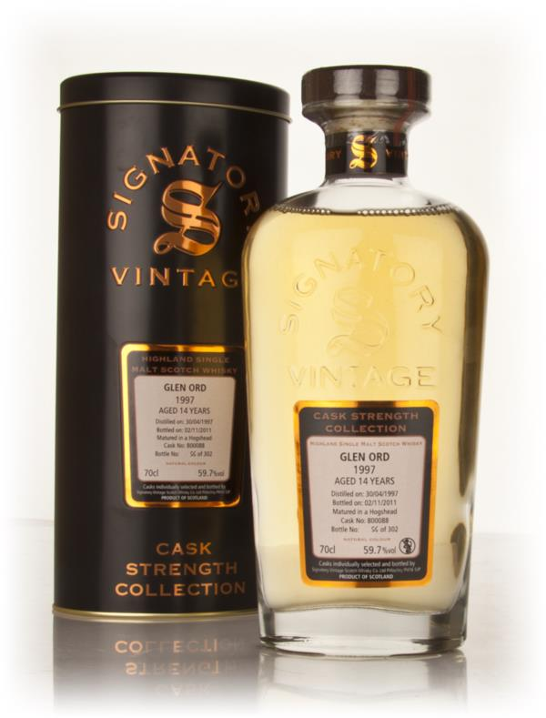 Glen Ord 14 Year Old 1997 - Cask Strength Collection (Signatory) Single Malt Whisky