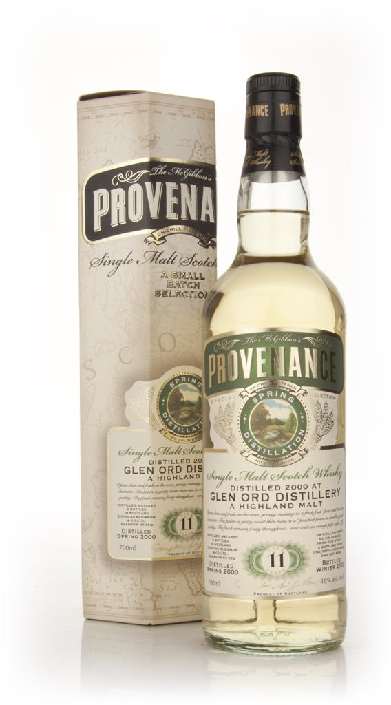 Glen Ord 11 Year Old 2000 - Provenance (Douglas Laing) Single Malt Whisky