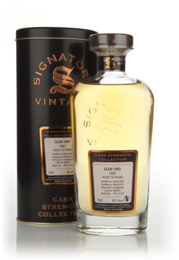 Glen Ord 14 Year Old 1997 Cask 800087 - Cask Strength Collection (Sign Single Malt Whisky