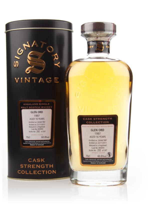 Glen Ord 16 Year Old 1997 (cask 800093) - Cask Strength Collection (Si Single Malt Whisky