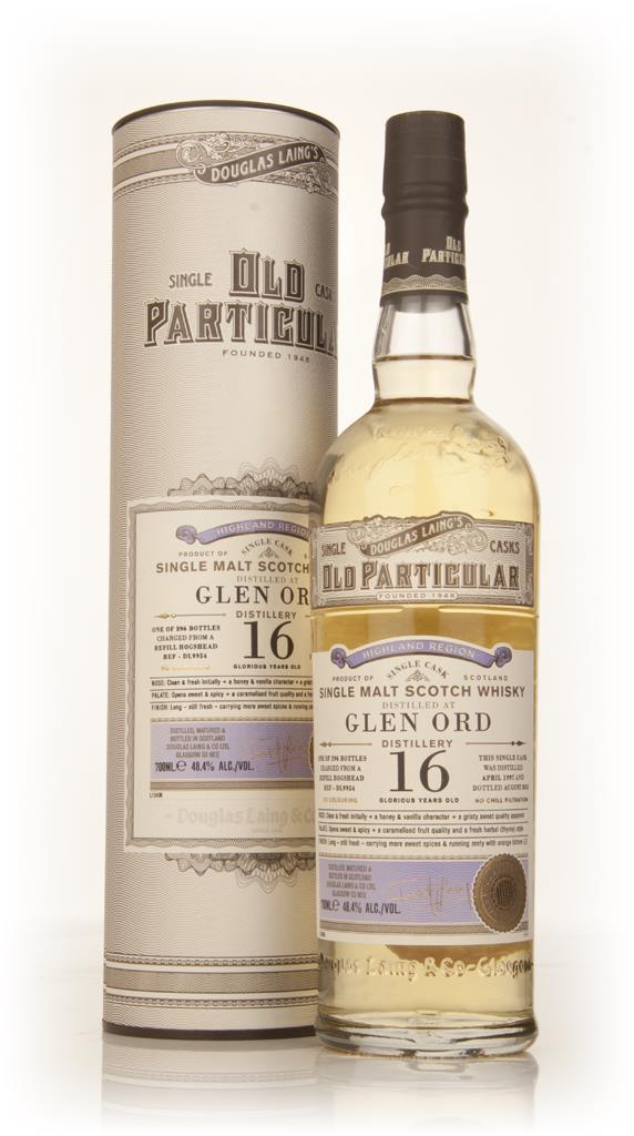 Glen Ord 16 Year Old 1997 (cask 9954) - Old Particular (Douglas Laing) Single Malt Whisky